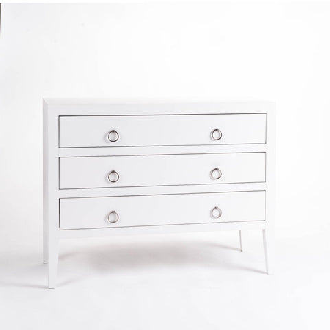 Savoy | Chest of Drawers | White-Chest of Drawers-Hickory Furniture Co.-Hickory Furniture Co.