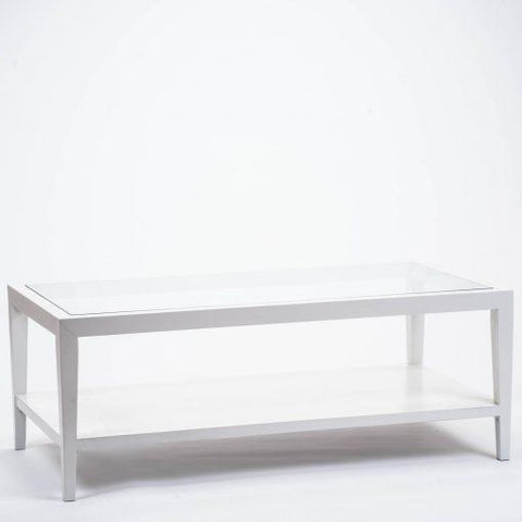 Savoy | Coffee Table | White-Coffee Table-Hickory Furniture Co.-Hickory Furniture Co.