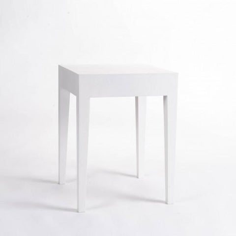 Savoy | End Table | White-End Table-Hickory Furniture Co.-Hickory Furniture Co.