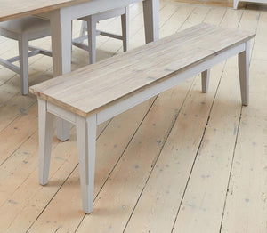 Signature Grey 150cm Dining Bench-Dining Bench-Baumhaus-Hickory Furniture Co.