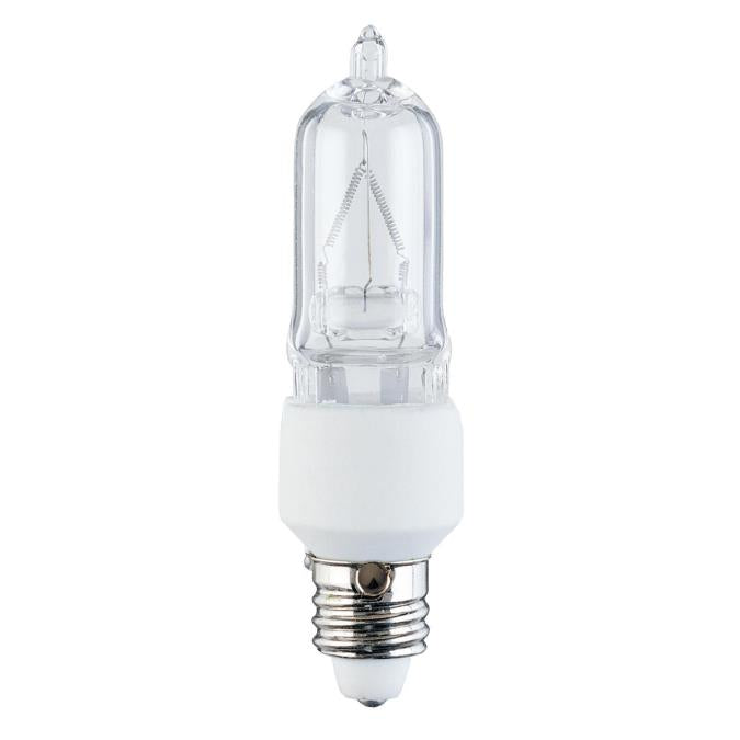 75 Watt T4 Clear Halogen Light Bulb