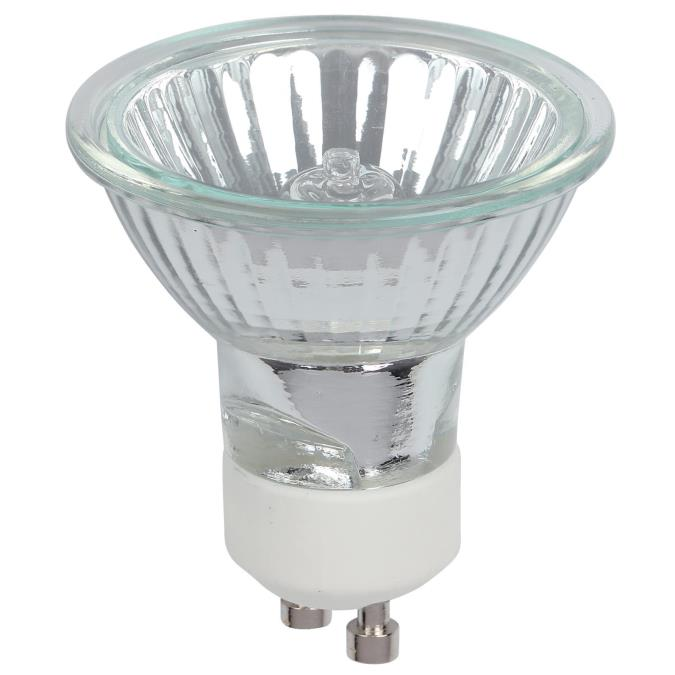 50 Watt MR16 Halogen Clear Lens Flood Light Bulb