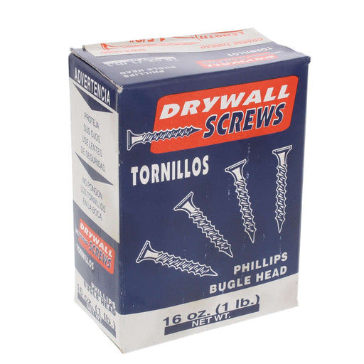 "1-5/8"" Drywall Screw 1lb. Box"