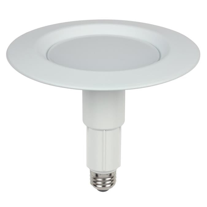 10 Watt (75 Watt Equivalent) 6-Inch Adjustable Recessed Downlight Dimmable LED Light Bulb ENERGY STAR