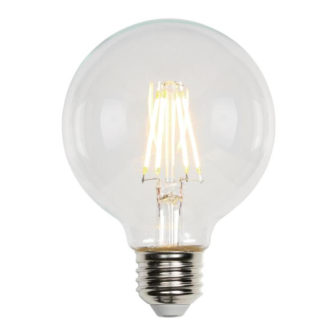 4-1/2 Watt (40 Watt Equivalent) G25 Dimmable Filament LED Light Bulb