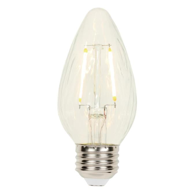 2.5 Watt (25 Watt Equivalent) F15 Dimmable Filament LED Light Bulb