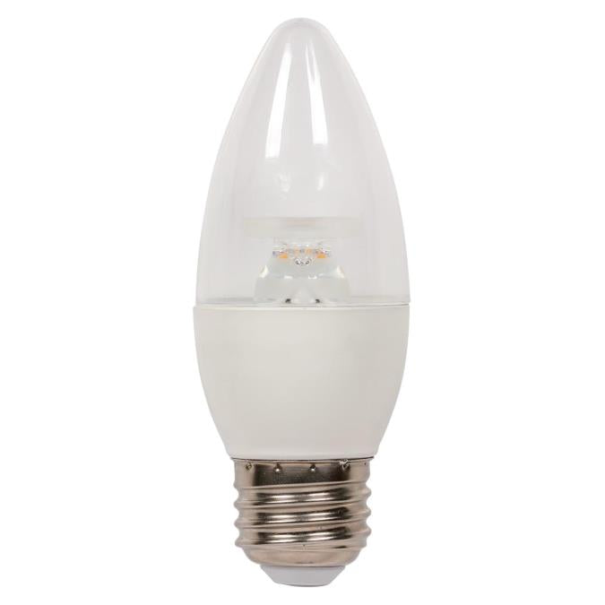 6-1/2 Watt (60 Watt Equivalent) B13 Dimmable LED Light Bulb ENERGY STAR
