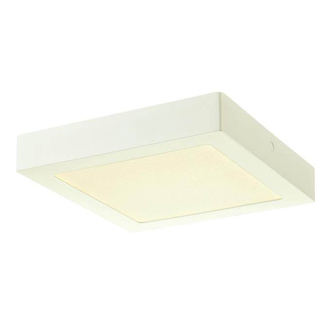 8-7/8-Inch Dimmable LED Square Indoor Flush Mount Ceiling Fixture