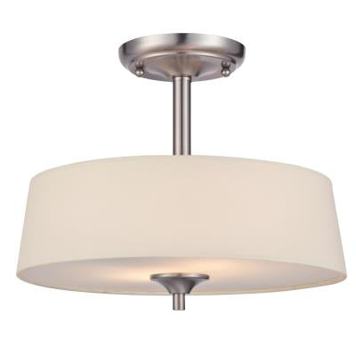 Parker Mews Two-Light Indoor Semi-Flush Ceiling Fixture