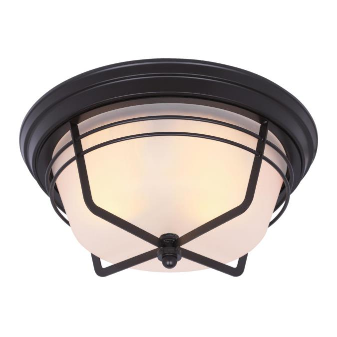 Bonneville Two-Light Outdoor Flush Fixture