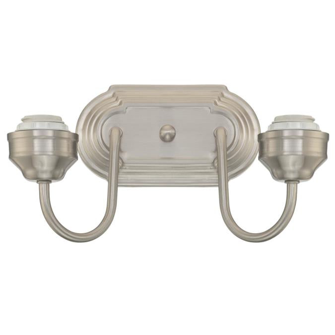 Two-Light Indoor Wall Fixture