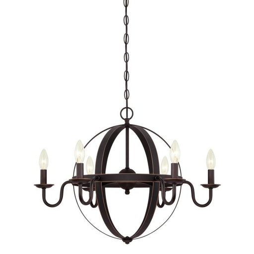 Brixton Six-Light Indoor Chandelier