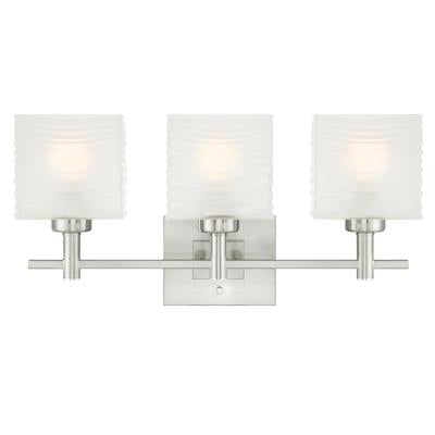 Alexander Three-Light Indoor Wall Fixture