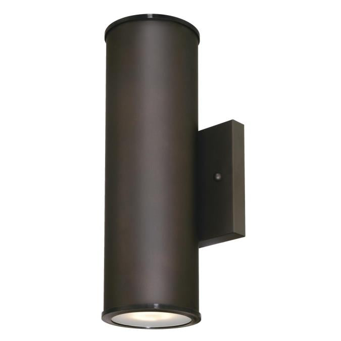 Mayslick Two-Light LED Outdoor Wall Fixture Up and Down Light