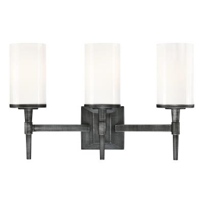 Courtfield Three-Light Indoor Wall Fixture