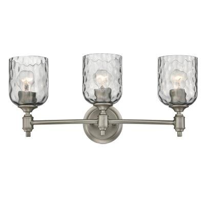 Basset Three-Light Indoor Wall Fixture