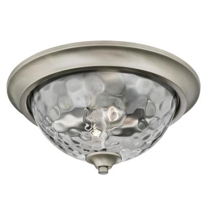 Basset Two-Light Indoor Flush-Mount Ceiling Fixture