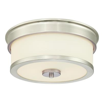 Roswell Two-Light Indoor Flush-Mount Ceiling Fixture