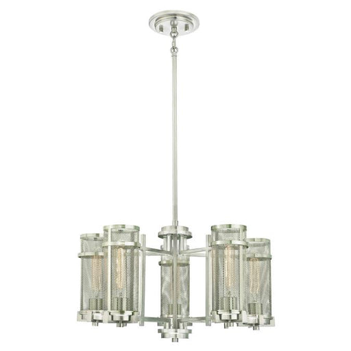 Adler Five-Light Indoor Chandelier