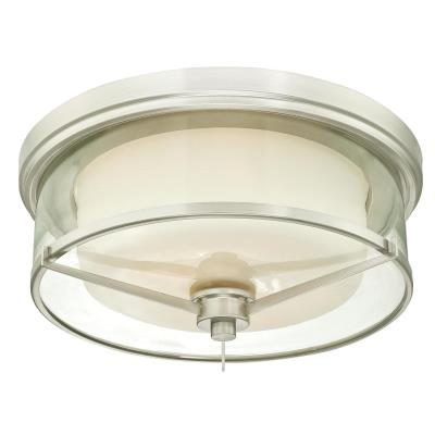 Glenford Two-Light Indoor Flush-Mount Ceiling Fixture