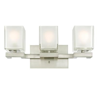 Nyle Three-Light Indoor Wall Fixture