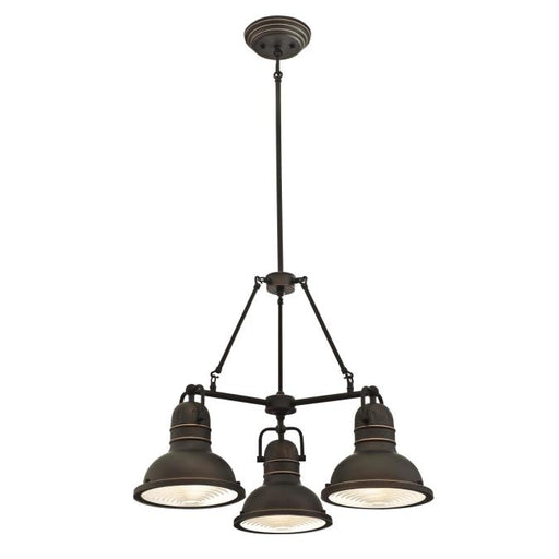 Boswell Three-Light Indoor Chandelier