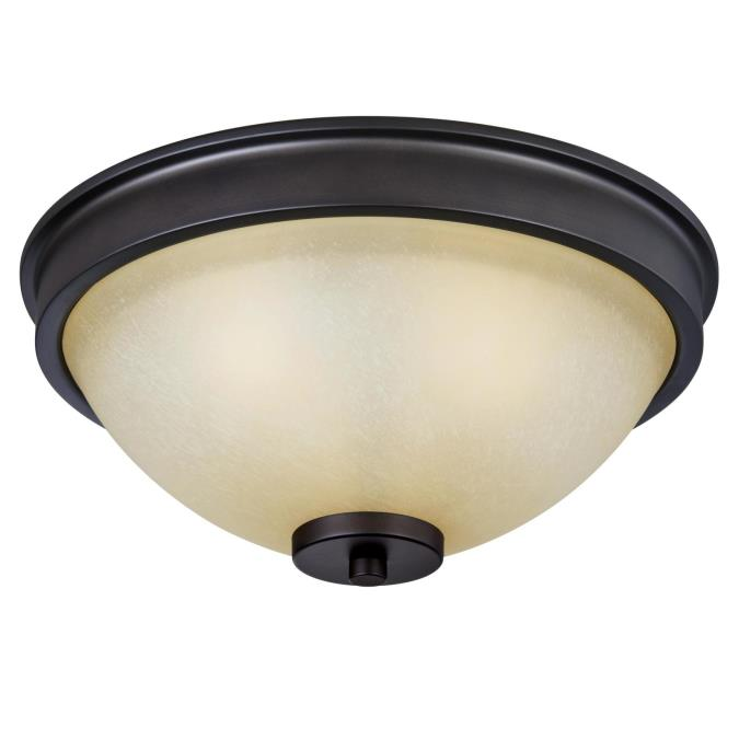 Karah Three-Light Indoor Flush Ceiling Fixture