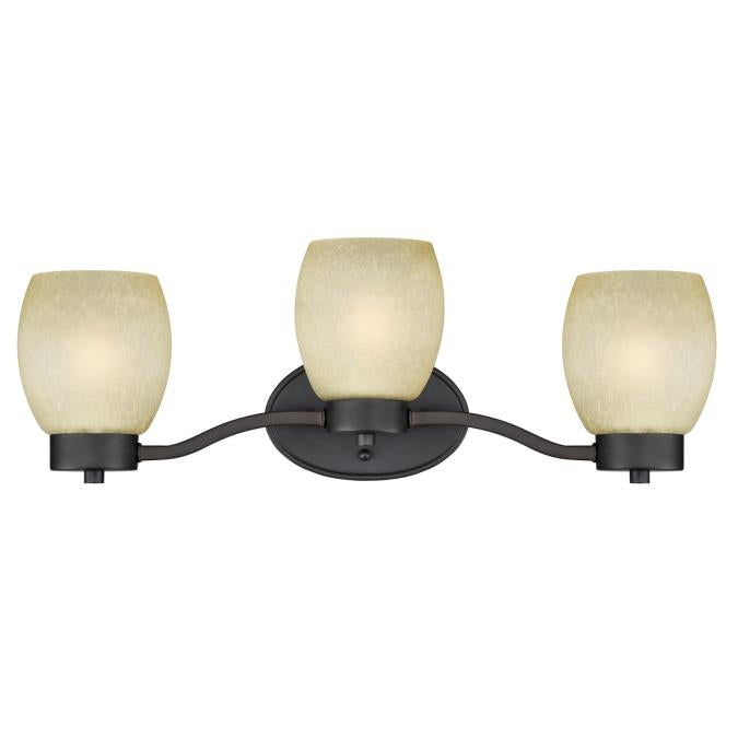 Karah Three-Light Indoor Wall Fixture