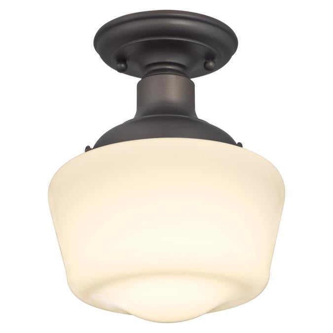 Scholar One-Light Indoor Semi-Flush Ceiling Fixture