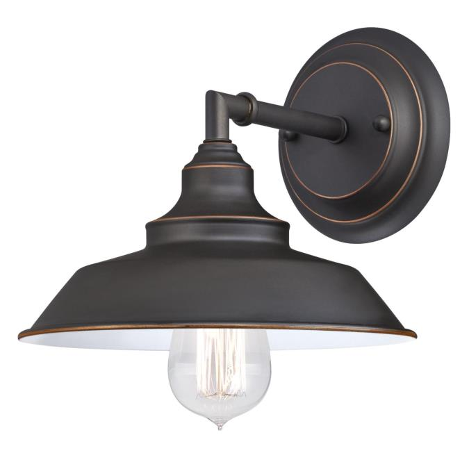Iron Hill One-Light Indoor Wall Fixture