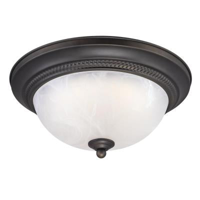 "11"" Dimmable LED Flush Mount Ceiling Fixture"