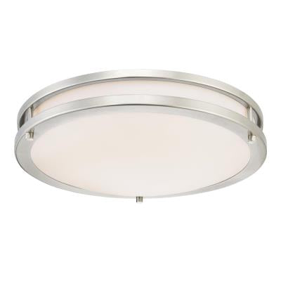 Lauderdale 15-3/4-Inch Dimmable LED Indoor Flush Mount Ceiling Fixture