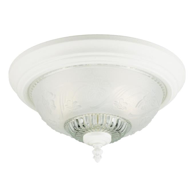 Two-Light Indoor Flush-Mount Ceiling Fixture