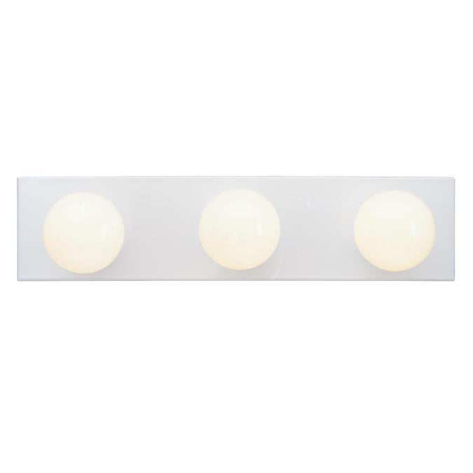 Three-Light Indoor Bath Bar