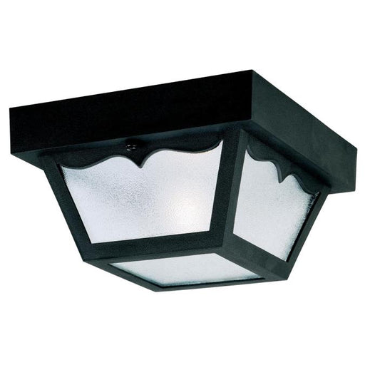 One-Light Flush-Mount Outdoor Fixture