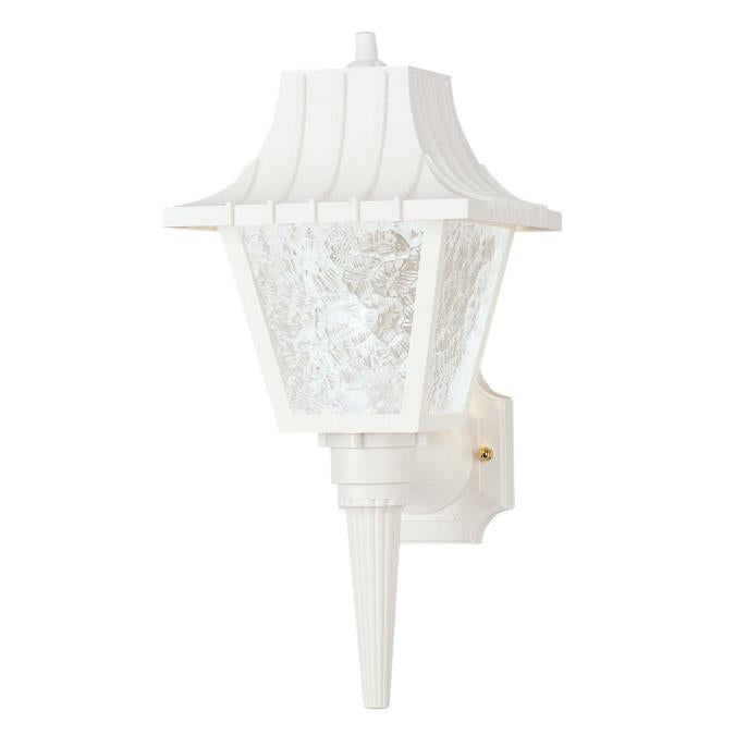 One-Light Outdoor Wall Lantern with Removable Tail
