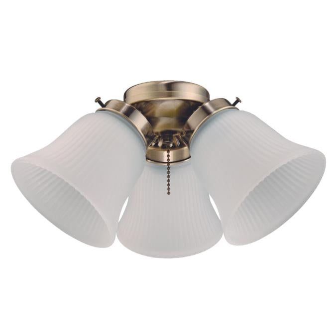 Three-Light LED Cluster Ceiling Fan Light Kit