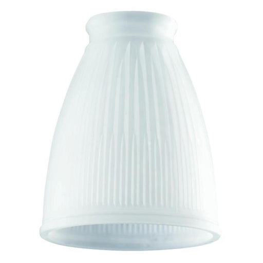 2-1/4-Inch Frosted Pleated Glass Shade