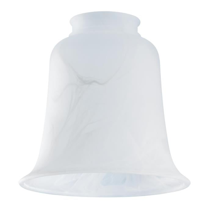 2-1/4-Inch Milky Scavo Glass Bell