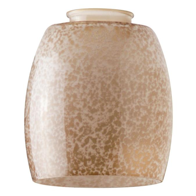 2-1/4-Inch Handblown Giraffe Spot Glass Shade