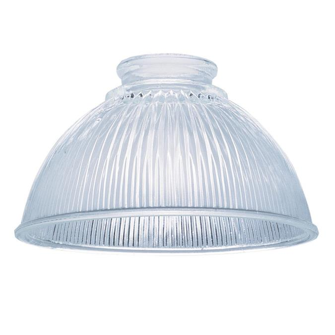 2-1/4-Inch Clear Prismatic Glass Shade
