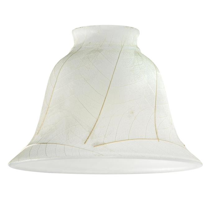 2-1/4-Inch Parchment Leaf Glass Shade