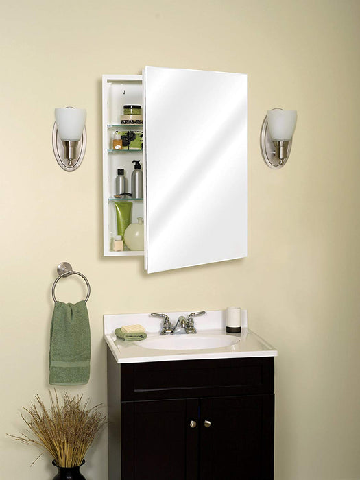 24in Frameless Beveled Medicine Cabinet