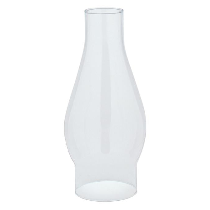 2-5/8-Inch Handblown Clear Glass Chimney