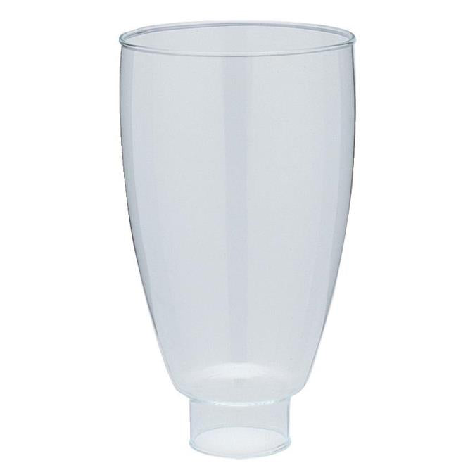 1-5/8-Inch Handblown Clear Williamsburg-Style Glass Shade