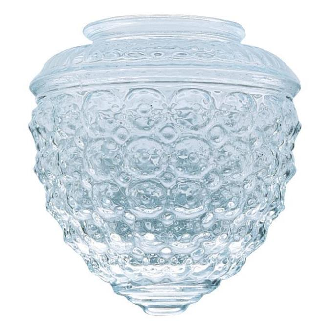 Clear Design Glass Shade 6-Pack