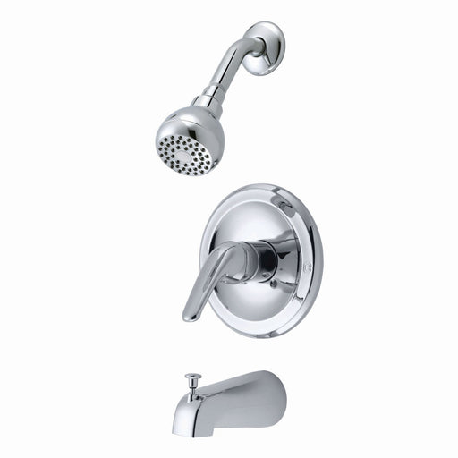 Single Handle Tub/Shower Faucet Chrome