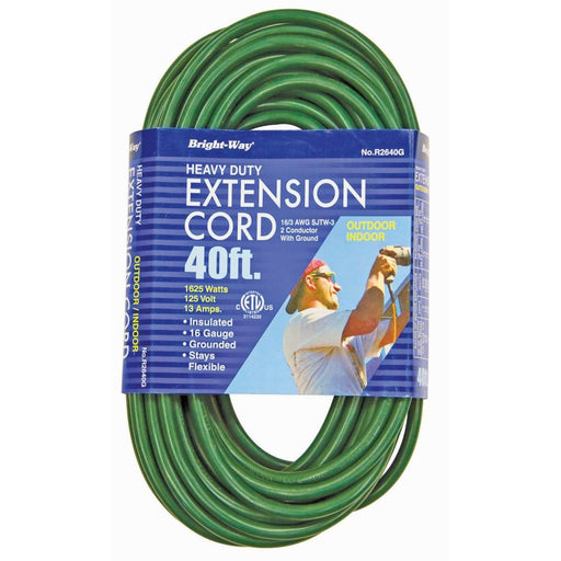 Green Extension Cord 40'