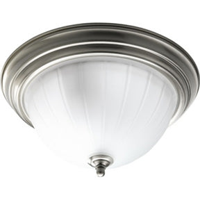 "13"" Brushed Nickel Flushmount Light"