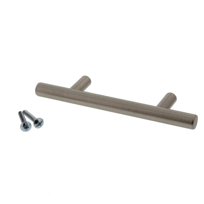 "5-3/8"" Cabinet Pull Satin Nickel"